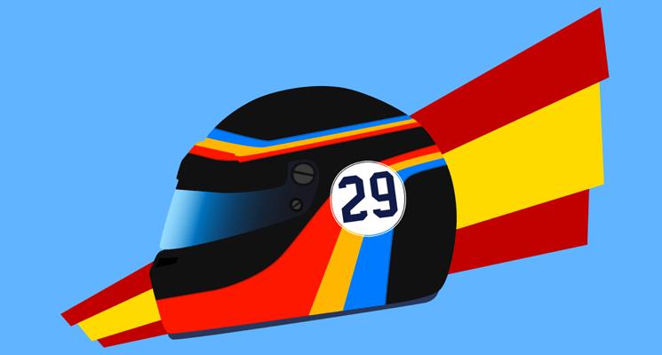 Design: Fernando Alonso's 2017 Indianapolis 500 helmet