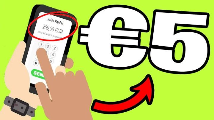 Guadagna €5.00+ SOLO Toccando il TUO Smartphone! *SITO FACILE E PAGANTE*
