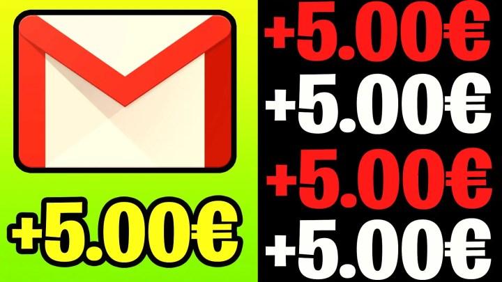GUADAGNA 5€ PER EMAIL! (Guadagnare Online con GOOGLE)