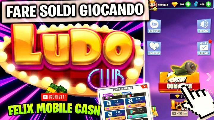 Ludo Club Guadagnare Soldi Tirando i Dadi!