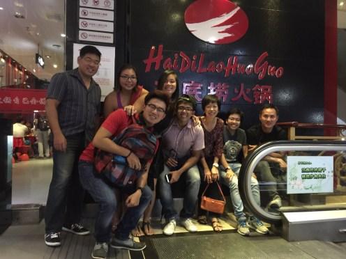 Hai Di Lao team