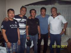 Japanese Karate Association Membes with SKIF Chief Instructor Emmanuel Velez
