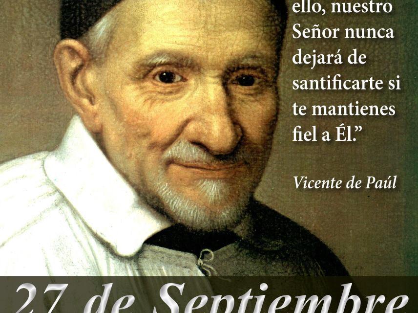 Encuentro confidencial con Vicente de Paúl, en el día de su fiesta