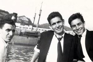 Félix y compañeros en Pasajes, San Sebastián