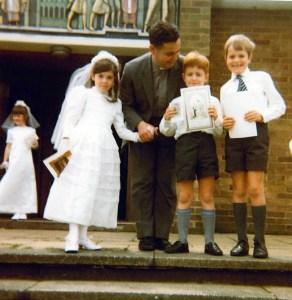Primeras comuniones en la parroquia de Rainham