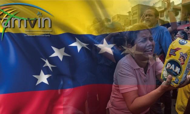Declaración de la Familia Vicenciana en Solidaridad con el Pueblo de Venezuela