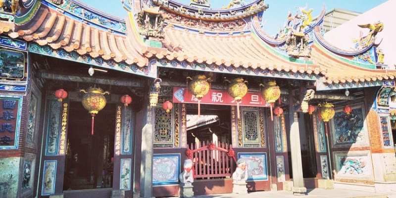 台中南屯萬和宮~逛南屯老街 媽祖廟拜拜求平安 台中四大媽祖廟之一