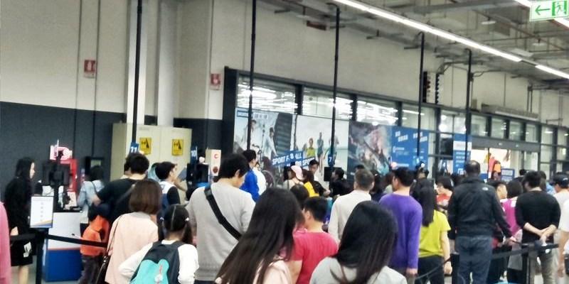 迪卡儂南屯店~不是運動咖也愛逛的大型運動用品店 假日千萬不要去!