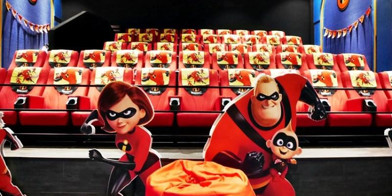 台中秀泰影城~迪士尼皮克斯動畫廳 看迪士尼電影的首選 超人特攻隊2 好拍好玩好好看!