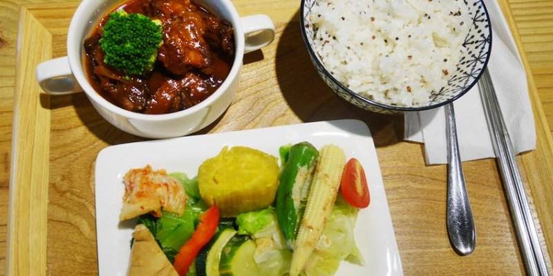 台中簡餐|旅圖好咖變成旅圖好食 午餐有定食、餐盒 晚餐賣旅圖好鮮粥
