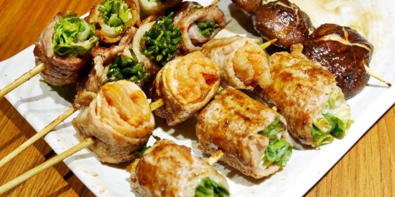 台中宵夜 兴焰炭火串燒~平價串燒深夜食堂 日本風情居酒屋 烤物、炸物、丼飯通通吃得到