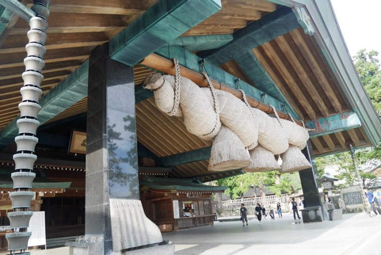 山陰山陽親子遊 充滿神話色彩的出雲大社~日本最大的注連繩,可愛的結緣因幡白兔