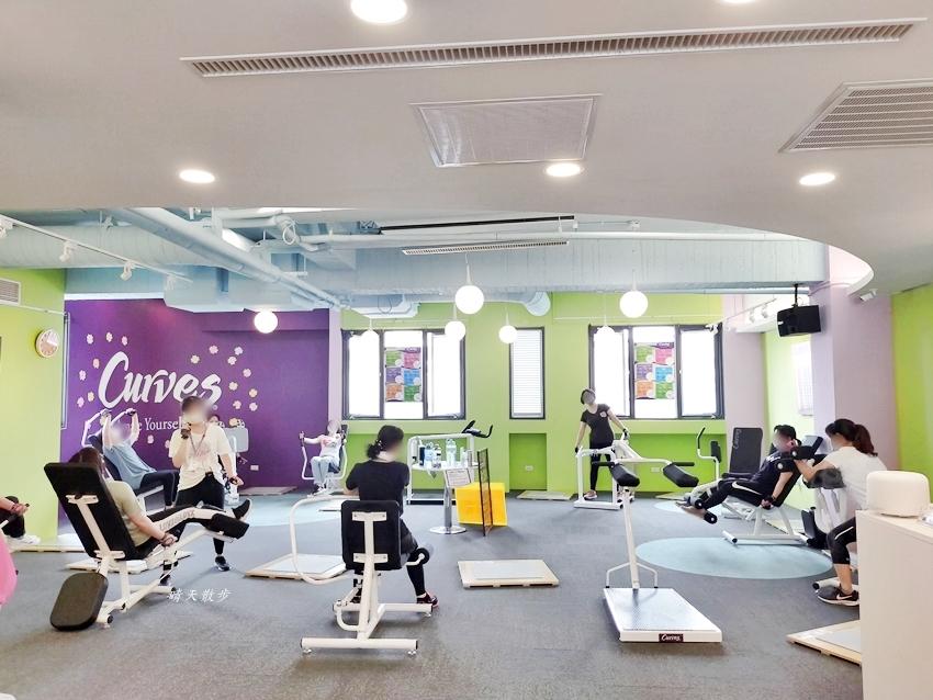 Curves可爾姿女性30分鐘環狀運動~很適合忙碌女性的三十分鐘健身房 可爾姿台中大雅店參觀分享