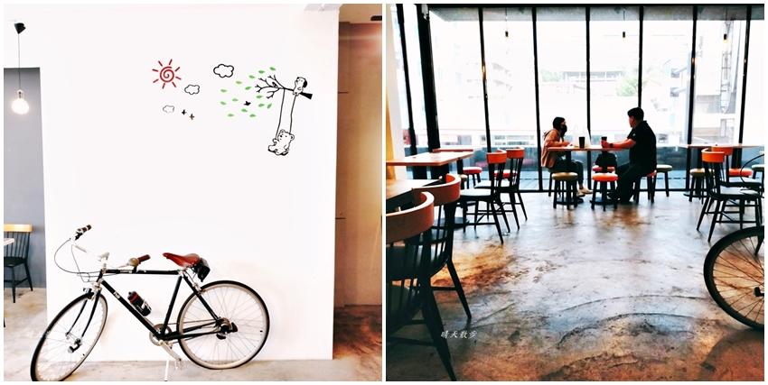 特色超商 全家便利商店台中新美村店~二樓有咖啡館風格的休憩區