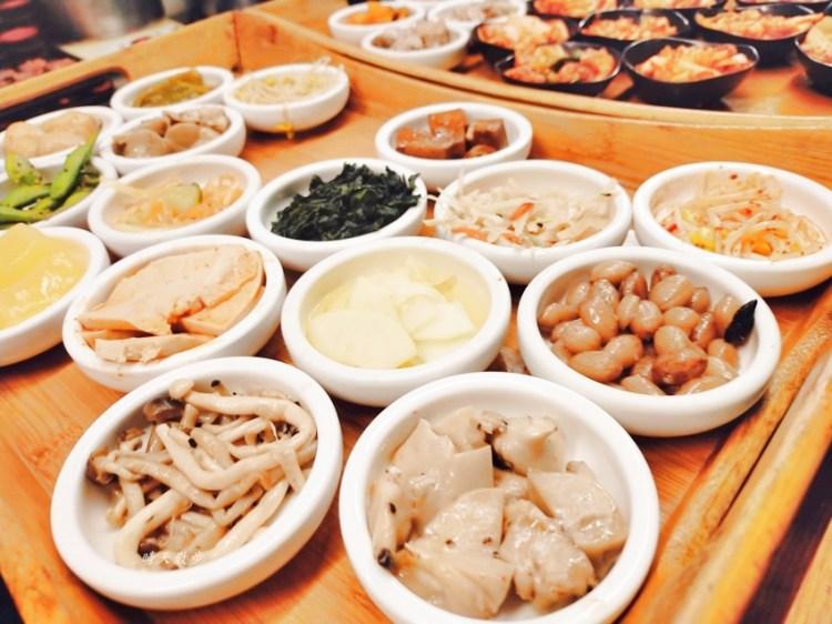 台中吃到飽 韓鄉韓國料理台中店/漢口店~推薦韓式銅盤烤肉,附贈豐富小菜吃到飽
