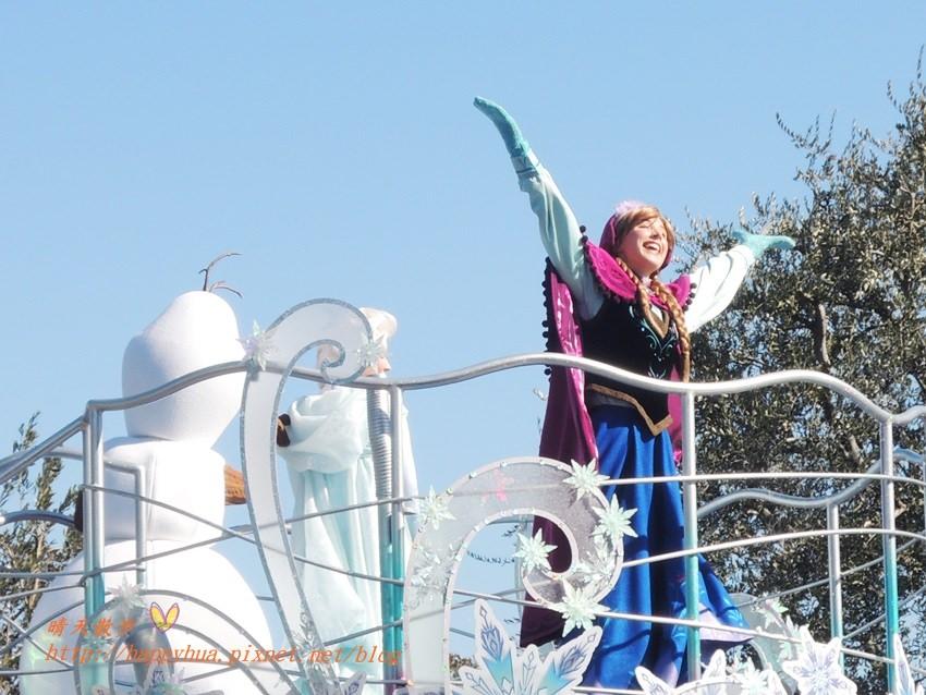 [日本]東京迪士尼樂園∥特別活動:冰雪夢幻迎賓會(201502)~冰雪奇緣的夢幻遊行 安娜、艾莎、雪寶幸福登場(不同時期的主題性遊行)