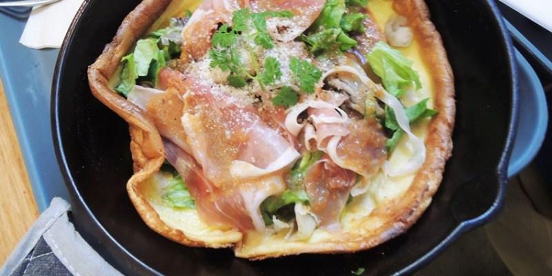 日本美食|ROSIE'S CAFE川崎店:日本熱門排隊名店,電視節目都來採訪的超夯鬆餅店~鑄鐵鍋德式鬆餅(荷蘭寶貝Dutch Baby),甜點、鹹食都好搭的難忘好滋味