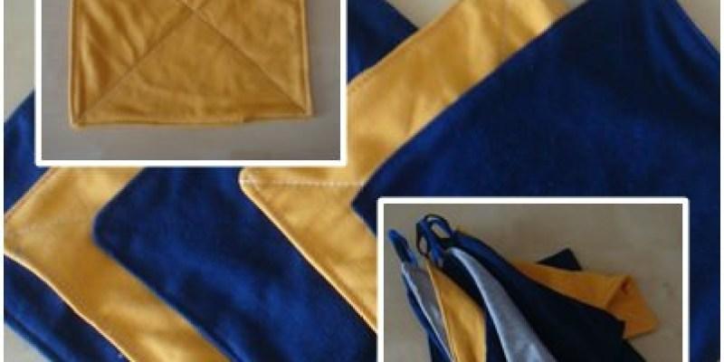 舊衣改造DIY|舊棉T變新抹布,東抹西擦真好用