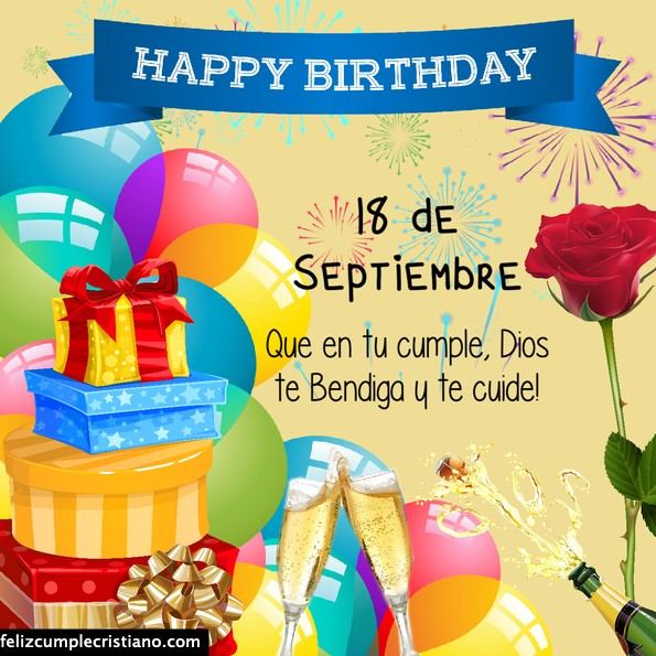 tarjetas feliz cumpleaños septiembre