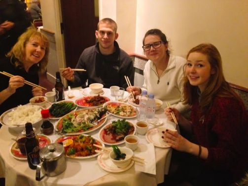 We went out for Chinese in Soho and it was amazing! The service was horrible (to a comical level) but the food made it all worth it!