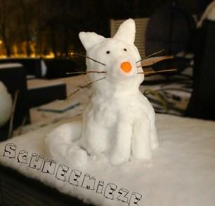 Meine Schneemieze...