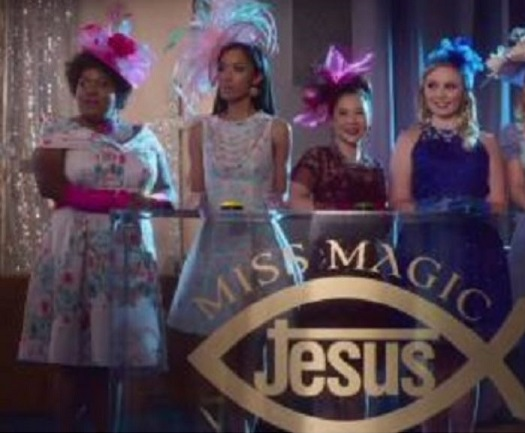 Netflix Insatiable mocks Christianity with young girls pleading for
