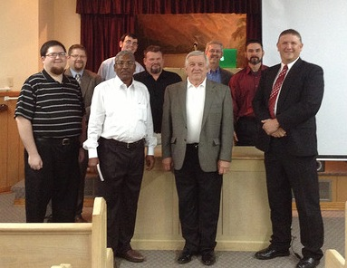 Some speakers, plus one, at the 8th annual Preachers Files Lectures