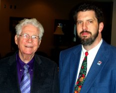 David R. Kenney and Dr. E. Claude Gardner, President Emeritus of Freed-Hardeman University, February 2011