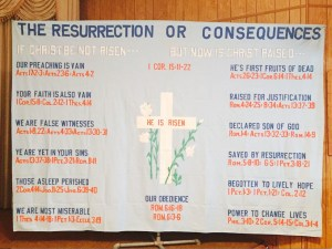 The Resurrection or Consequences chart