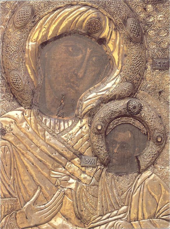 Иверская икона Богородицы, Афон