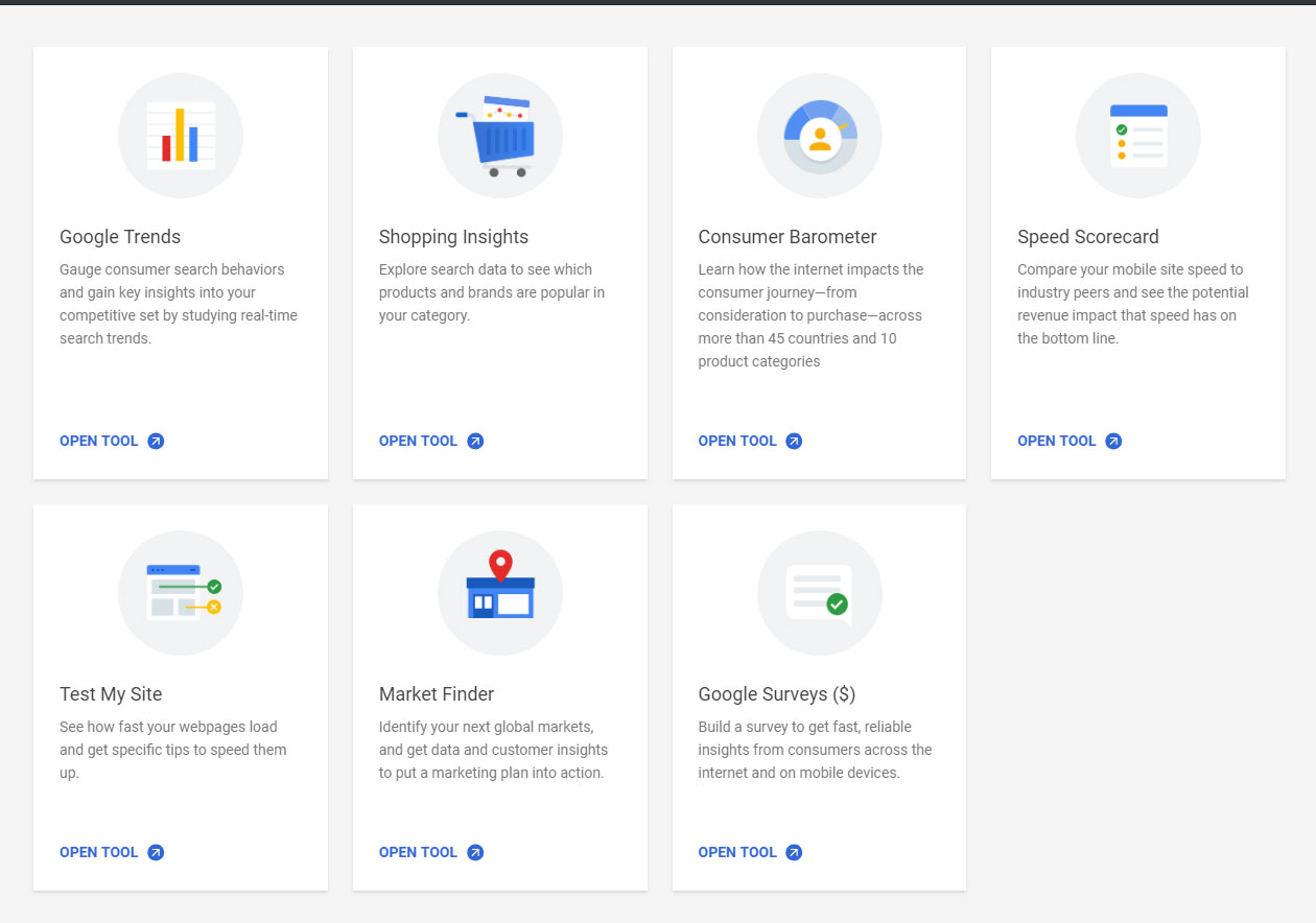 Improve Website Performance -More Google Tools
