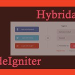 Social Login – All in One with Hybridauth 3 and CodeIgniter