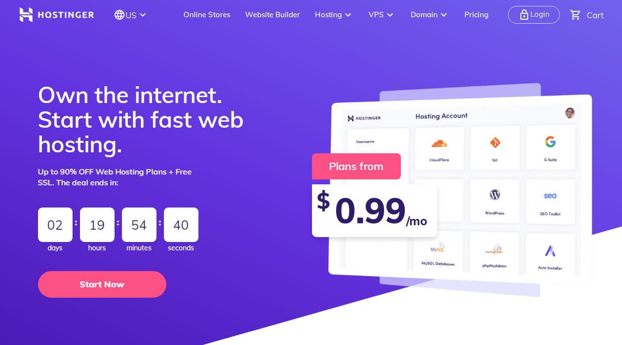 Hostinger Web Hosting for Beginners