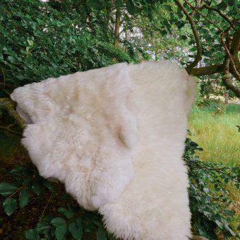 Schaffell Merino – Naturweiß