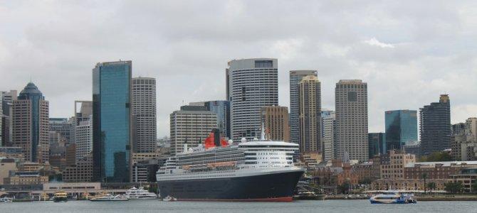 Queen Mary 2 In Sydney