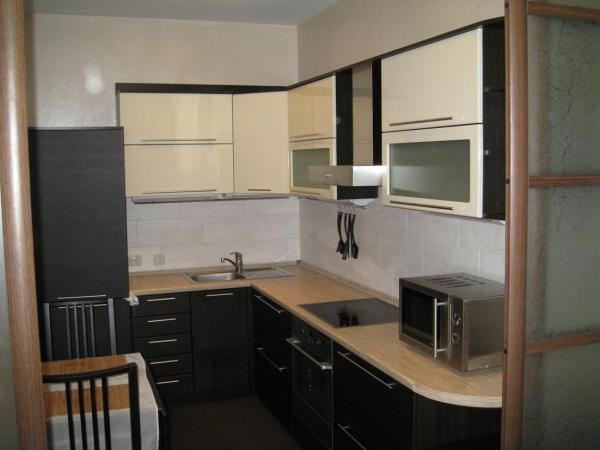 Дизайн маленькой кухни 6 кв.м с холодильником - фото ...