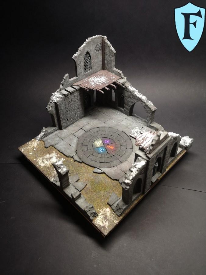 Große Ruine für Frostgrave