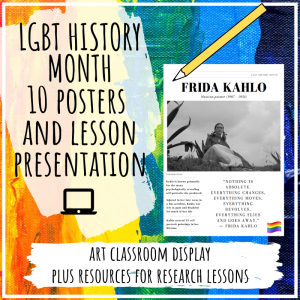 LGBT history month art lesson