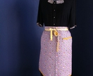 Apron-  50's Vintage style by Brown Street Bespoke