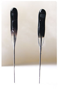 BLACK Heavy Duty 36t SINGLE POINT Felting Needles - 2 PACK