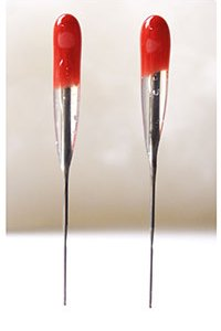RED Superstar 38 star - SINGLE Point Felting Needles - 2 Pack