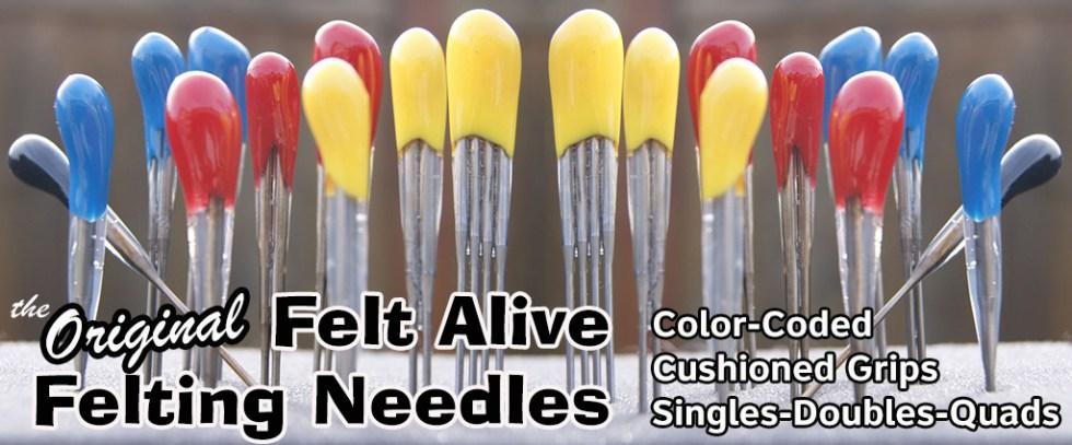 felt alive felting Needles