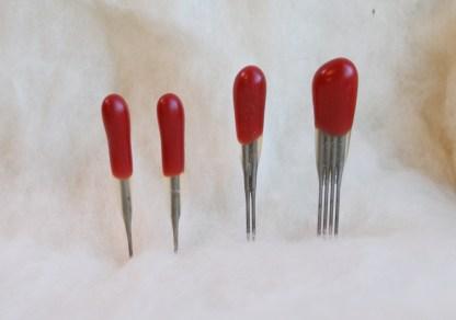 RED 38 star Multi-Purpose Felting Needles Variety Pack