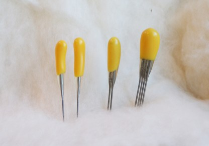 YELLOW ALL-PURPOSE 40t Felting Needles Combo Pack