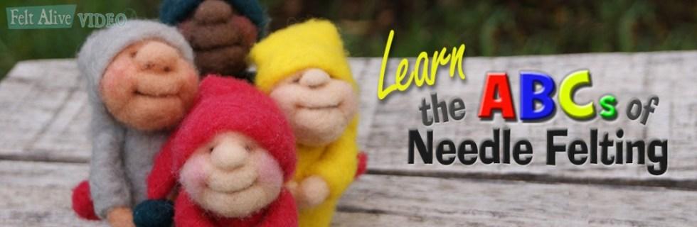 beginner needle felting classes