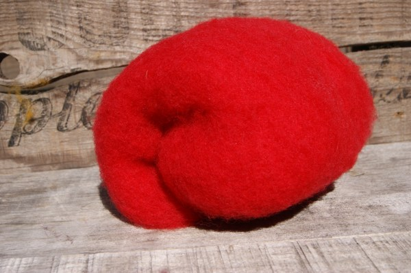 RED Needle Felting Wool