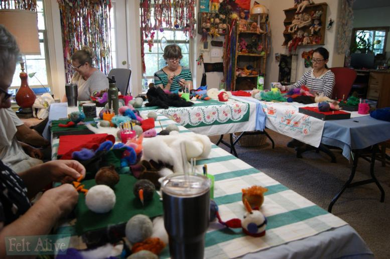 felting classes in southern oregon
