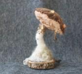 needle felted artistic toadstool