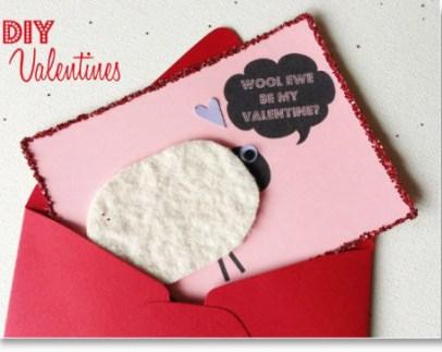 wool valentine