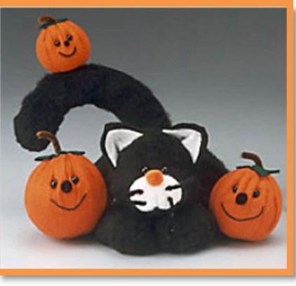 Pumpkin Patch Kitty